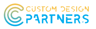 Custom Design Partners Mobile Logo