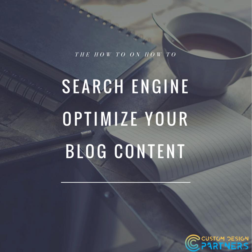 SEO techniques for blogging