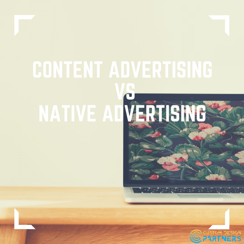 content ADVERTISING vs native advertising