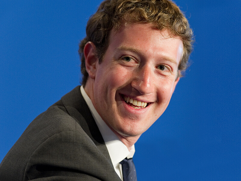 Marck Zuckerberg of Facebook