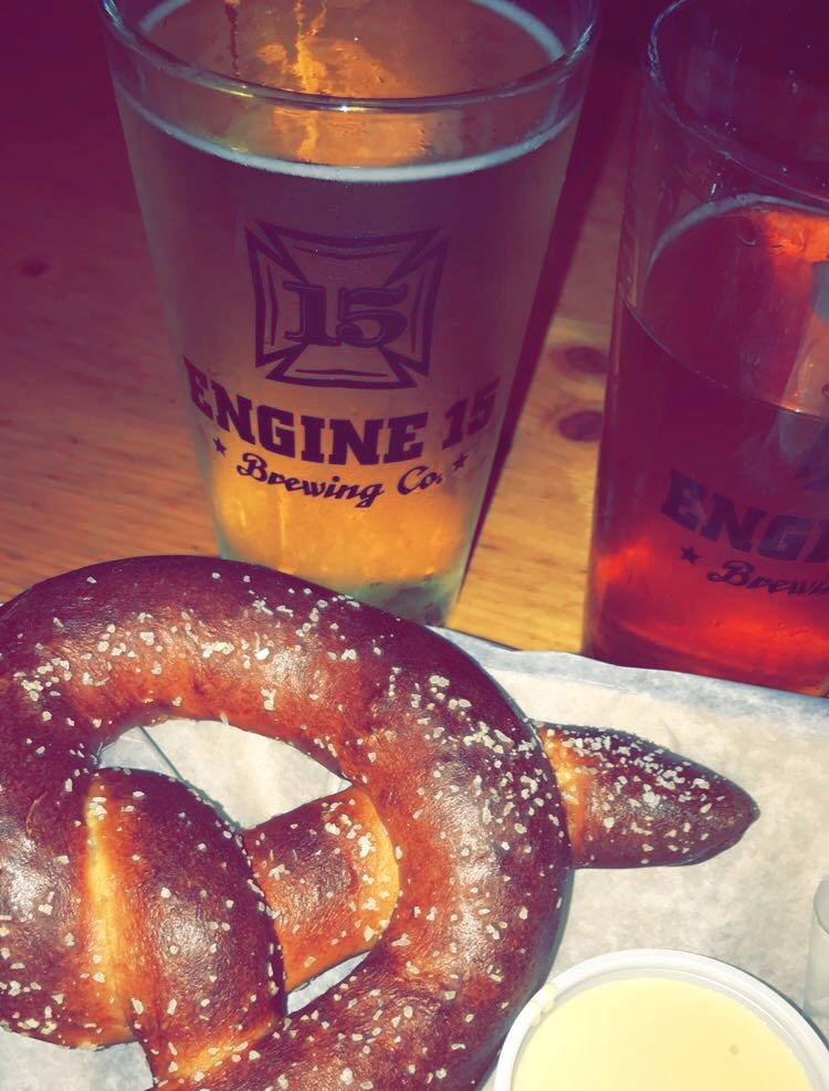 pretzel and beer Jacksonville