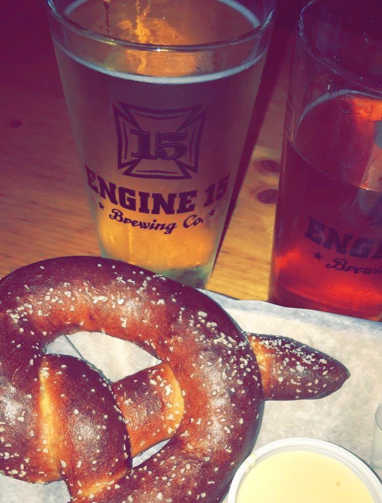 pretzel and beer Jacksonville