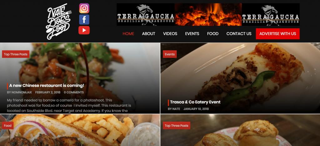 food blog marketing and monetization